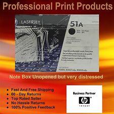 Genuine HP Q7551A Toner 51A LaserJet P3005, M3027 mfp, M3035 mfp   Box UnOpened