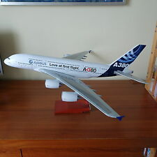 Huge 1/100 Airbus A380 Love First Flight Launch Customer House Color Plane Model