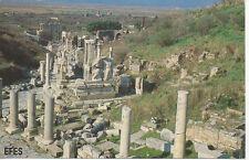 Picture Postcard TURKEY EFES Bookhouse Ephesus 1989 Ancient Historic Monuments