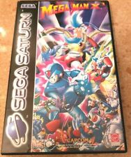 Mega Man X3 Sega Saturn rARe CIB Great Condition European Release just like SNES