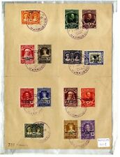 Sellos 1926 Pro Cruz Roja 325/338 14 valores Matasellados Marruecos