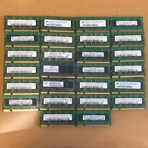 Lot of mixed DDR2 667MHz PC2 5300, 800MHz PC2 6400 Laptop/iMac Memory