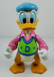 """Disney Hollywood Actor Donald Duck 4.25"""" Tall Children's Toy Action Figure Arco"""