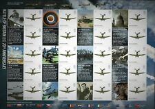 2010 LS74 SMILER SHEET 70th Anniversary Battle of Britain 20 x 1st Class Stamps