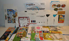Nintendo Promo Items! Promotional Store Displays, Standees, Posters, Clings+MORE