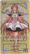 Negima! Magister Negi Magi Pactio Card #XXI Chizuru Naba