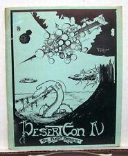 1976 Desert Con IV Convention Program Book