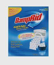 DAMPRID Moisture Absorber EZ FILL REFILL PACKS Dehumidifier FG92 ~ 4 - 10.5 oz