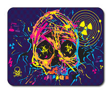 Nuclear Skull Mouse Mat - Fantasy/Goth