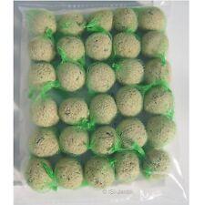 Lot 30 boules de graisse 90g, sans huile de palme, pour oiseaux de la nature