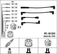 Con Accensione Lucas JLM726 JAGUAR XJ12 XJS 5.3 V12 OEM Cavo Dell/'Accensione Set