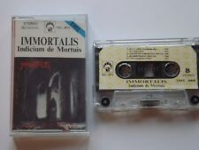 Immortalis - Indicium De Mortuis - Cassette, Made In Poland 1991