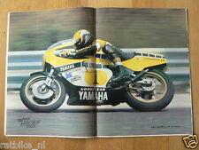MV8013-POSTER ROBERTS YAMAHA,OFF THE ROADS,KAWASAKI