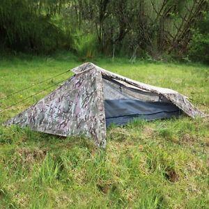 1 Man Multicam / HMTC / MTP Camouflage 1 Man Tent. Bivi Shelter Hide Military