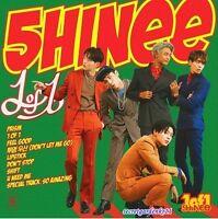 SHINee 1 OF 1 5th Album  : CD+Random Item+Group Poster+Gift, shinee New Sealed