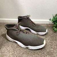 Air Jordan Future Sneakers Shoe Mens Size US 13 Green Brown