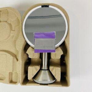 "Simplehuman 8"" Sensor Makeup Mirror 5x Magnification ST3052 Brushed Stainless"