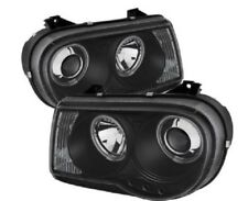 Spyder Chrysler 300C 05-10 Projector Headlights CCFL Halo LED Blk