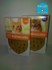 ADVOCATE¹ Antiparasitaire chat 1-8 kg 3 pipettes,puces,poux,parasites internes