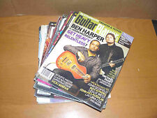 Lot of 9 GUITAR PLAYER magazines - back issues 1980-2012
