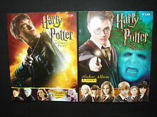 Panini Harry Potter 2x Stickeralbum, Leeralben, Orden des Phönix, Halbblutprinz