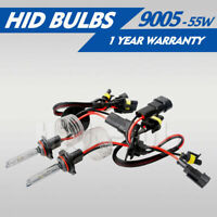 2PCS 35W/55W 9005 XENON HID HEADLIGHT REPLACEMENT BULBS LAMP 3000K TO 12000K US