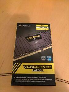 Corsair Vengeance LPX 16GB (2 x 8GB) PC4-19200 (DDR4-2400) Memory (CMK16GX4M2A2…