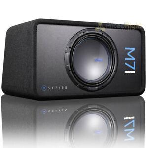 "Memphis Audio Single 12"" Loaded Subwoofer Enclosure M7 Series 1500W Max M7E12S1"