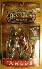 Mystic Knights of Tir Na Nog Battle Fury Angus Mystic Knight of Earth BRAND NEW