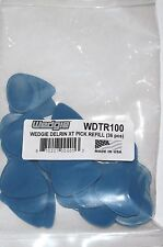 Wedgie Guitar Picks  36 Pack  Delrin  Textured  1.00mm  Blue