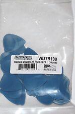 Wedgie Guitar Picks  36 Pack  Delrin  Textured  1.00mm  Blue