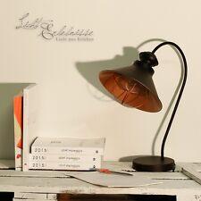industria Lámpara de MESA desván Edison Marrón Cobre Retro Iluminación