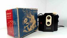 1935-50's Ansco Panda 20 Camera Vintage Box Camera with box and instruction
