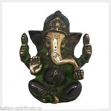 Lord Ganesha de latón 11,5 cm 760 gramos de la india el Tíbet nepal suerte Dios hinduismo