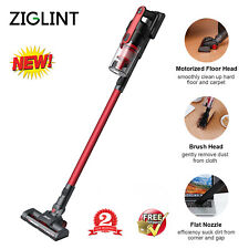 Ziglint Z5 Cordless Vacuum Cleaner Handheld Stick 2000mAh Floor Sweeper 8000Pa