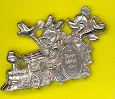 Disney Tokyo Electrical Dreamlights Parade Mickey & Minnie Train Logo Float Pin