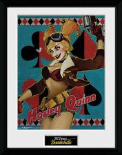 DC Comics Harley Quinn Bombshells Superheroes Framed Poster Print 40x30cm