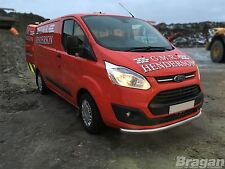 Per adattarsi 2013-2018 FORD TRANSIT TOURNEO CUSTOM PARAURTI SPOILER Chin CITY Spingere BAR
