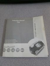 iRiver Model T30MX mp3 player instruction manual booklet