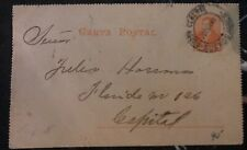 1890s Buenos Aires Argentina Stationary Postcard Cover Domestic