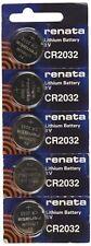 5 X RENATA CR2032 PILES LITHIUM 3V