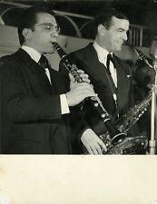 """Jean TORDO et Bob GARCIA "" Photo argentique originale Jean-Pierre LELOIR 1959"