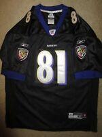 Anquan Boldin #81 Baltimore Ravens NFL Reebok Black Jersey Youth XL 18-20