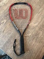 """Wilson Air Lite Alloy Fire Xt Sx 3 7/8"""" Racquetball Racquet"""