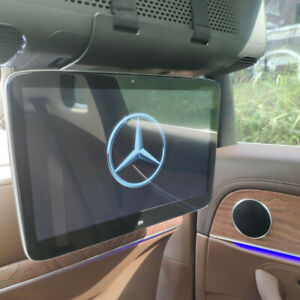 Android Car TV Headrest Monitor For Mercedes-Benz Rear Seat Entertainment System