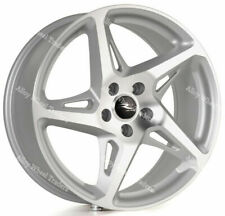 "ALLOY WHEELS X 4 18"" SMF RIVER R4 FOR 5X100 AUDI A1 A3 VW BORA POLO GOLF VENTO"