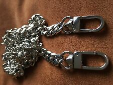 120cm Silver Metal Purse Chain Strap Handle Shoulder Replacement