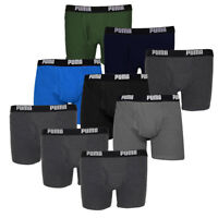 Puma Men's 3-Pack Cotton Boxer Briefs