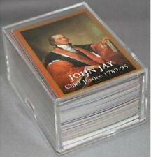 SUPREME COURT JUSTICE TRADING CARD COMPLETE SET +RUTH BADER GINSBURG UPDATE CARD