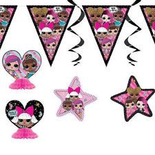 LOL SURPRISE ROOM DECORATING KIT (7pc) ~ Birthday Party Supplies Swirls Banner